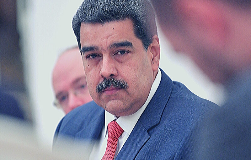 maduro venezuela trezor wallet