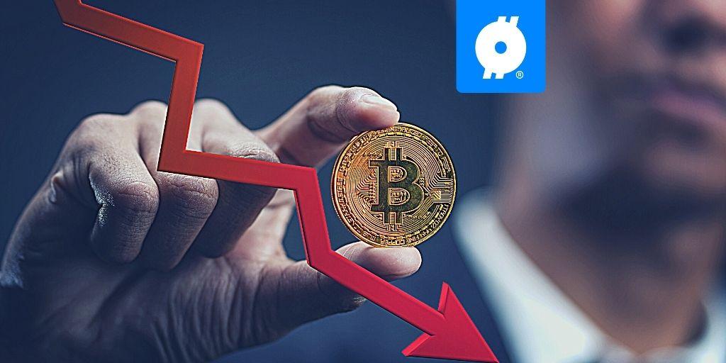 bitcoin daalt)
